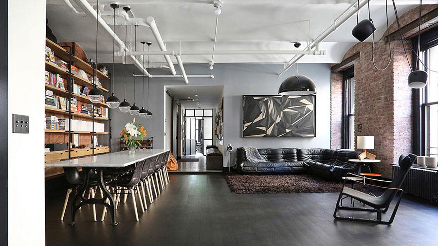 Idee di arredamento per un loft in stile newyorkese n.03