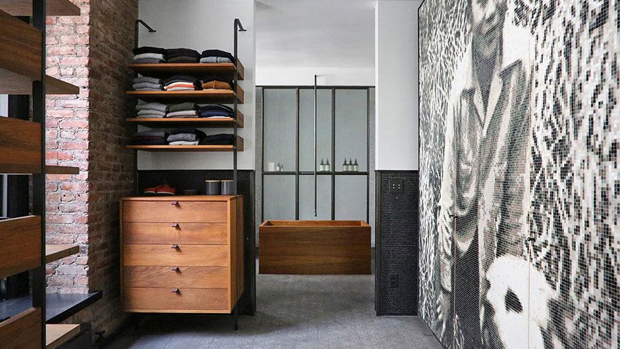 Idee di arredamento per un loft in stile newyorkese n.08