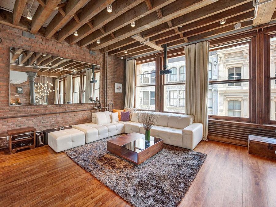 Idee di arredamento per un loft in stile newyorkese n.09