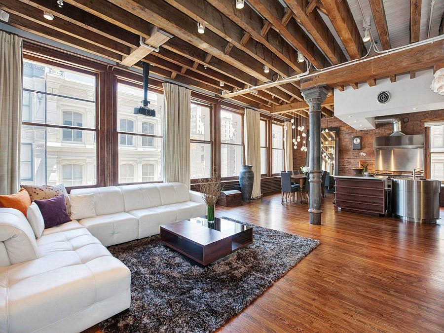 Idee di arredamento per un loft in stile newyorkese n.10