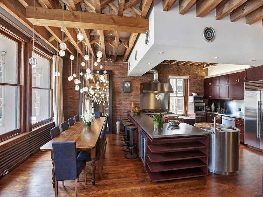 Idee di arredamento per un loft in stile newyorkese n.11