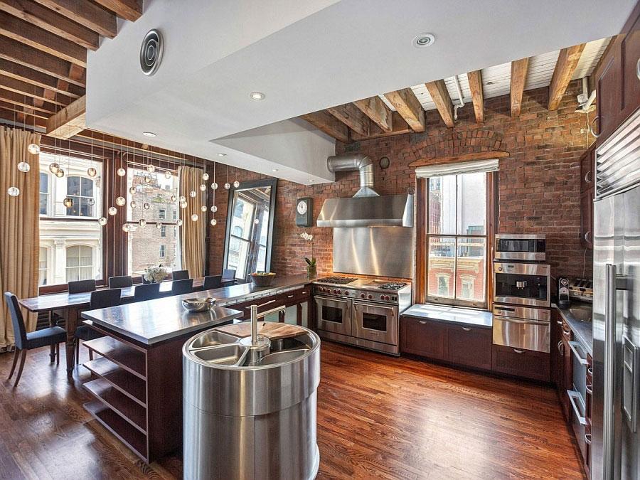 Idee di arredamento per un loft in stile newyorkese n.12