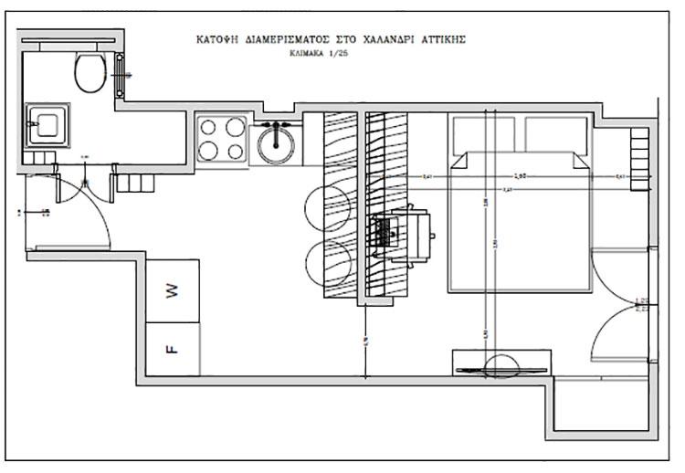 Idee per arredare un monolocale di 20 mq n.10