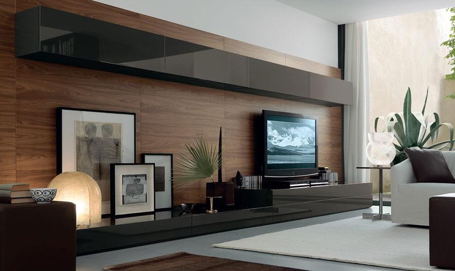 Idee per arredare una parete tv dal design originale n.04