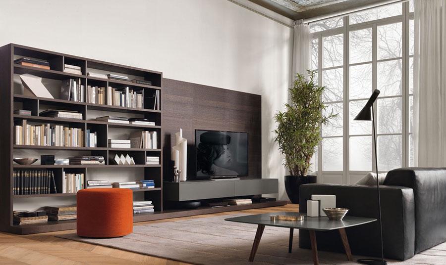 Idee per arredare una parete tv dal design originale n.05