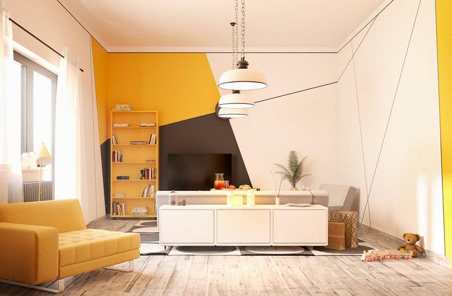 Idee per arredare una parete tv dal design originale n.14