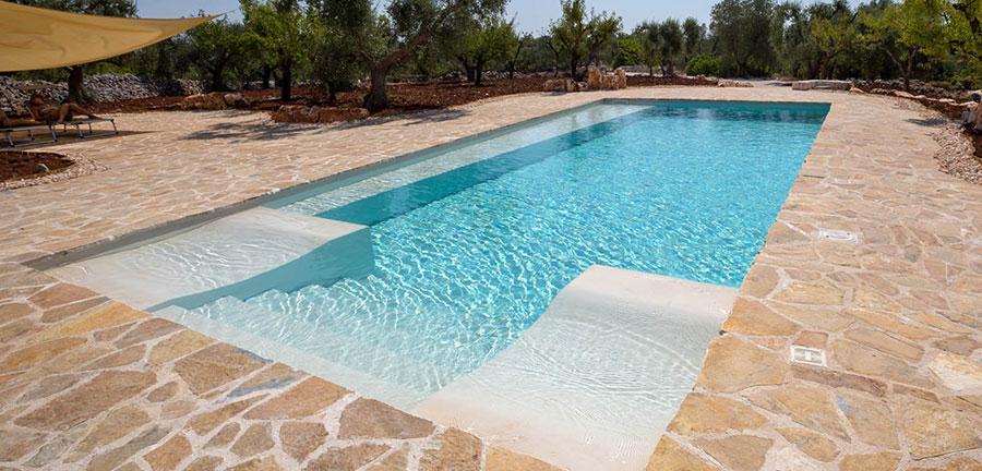 Modello di piscina prefabbricata n.03