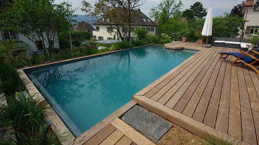 Modello di piscina prefabbricata n.07