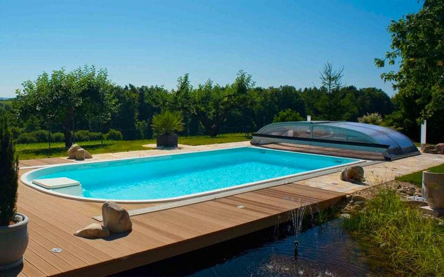 Modello di piscina prefabbricata n.09