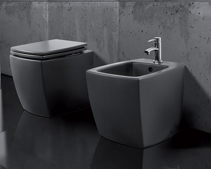 Sanitari neri tanti modelli di design per un bagno raffinato - Bagno neri viserbella ...
