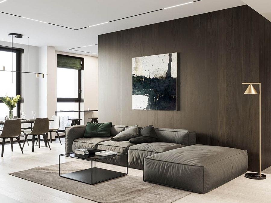 Arredamento bianco e legno 50 idee con foto di interni for Sito arredamento design