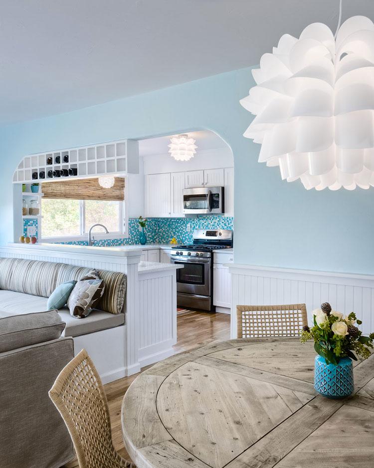 Idee per arredare casa al mare 40 foto di interni in for Arredamento casa con la a