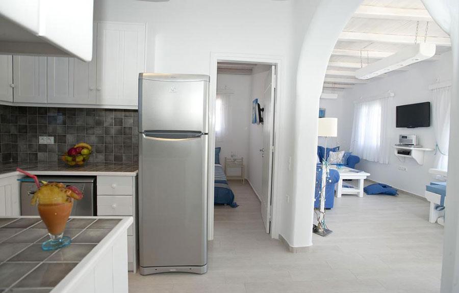 Idee per arredare casa al mare 40 foto di interni in for Concetto aperto cucina soggiorno