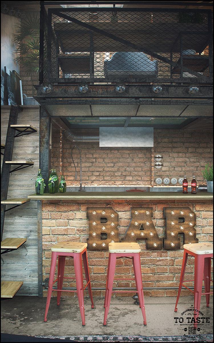 Idee per arredare un loft in stile rustico n.03