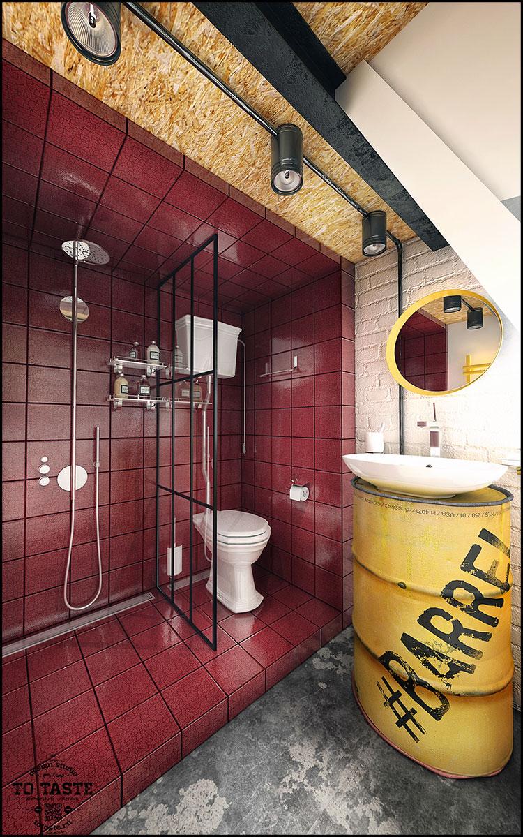 Idee per arredare un loft in stile rustico n.06
