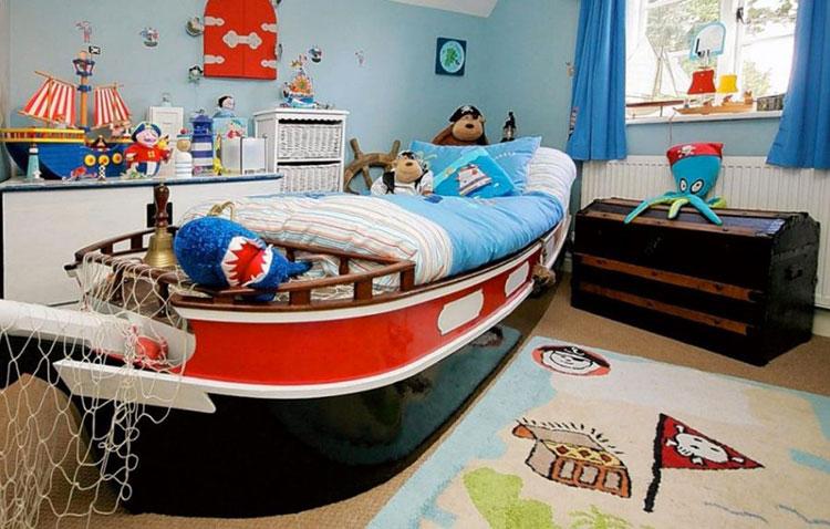 Arredamento per camerette in stile marinaro nautico n.16