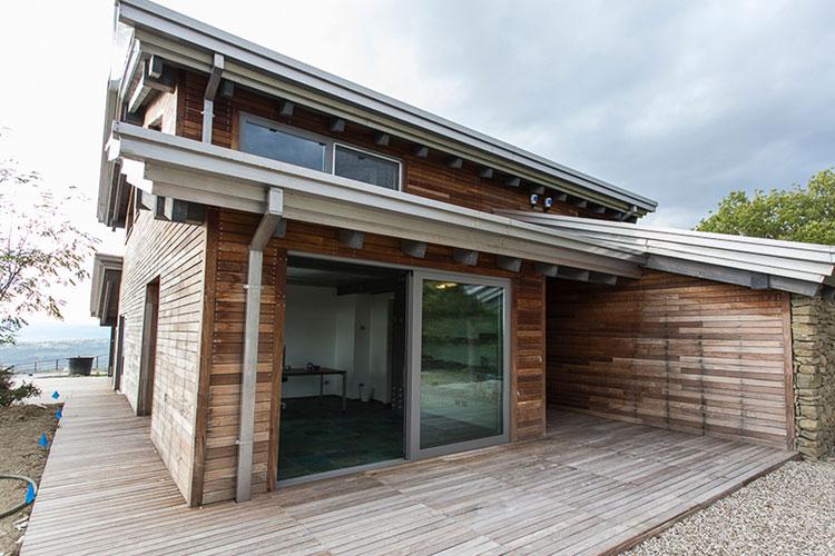 costruttori di case in legno delle marche