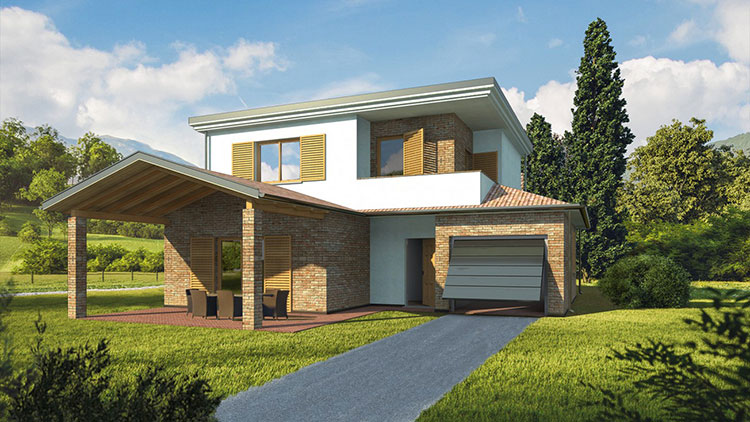 Costruttori di case in legno nelle Marche Casa Eco Più