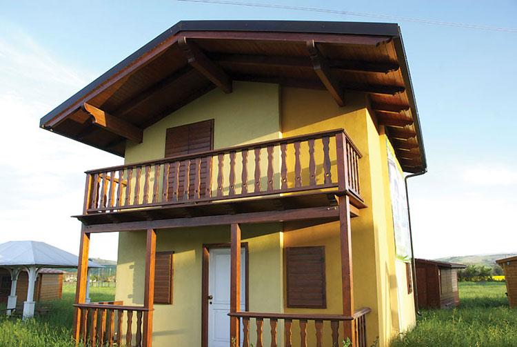 Costruttori di case in legno nelle Marche SB Strutture in Legno