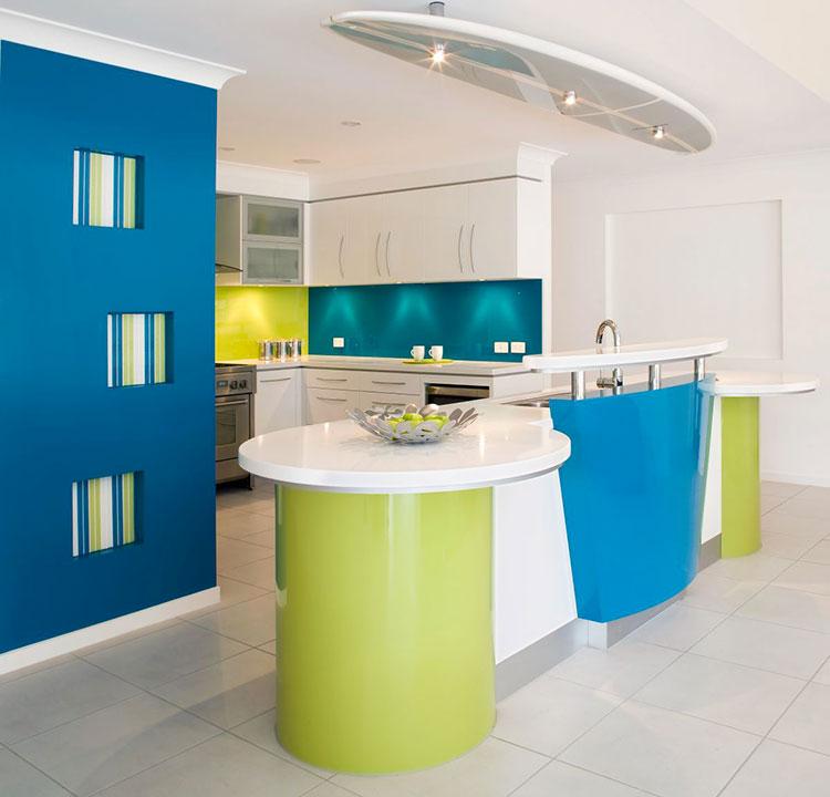 Idee per abbinare i colori in una casa al mare n.04