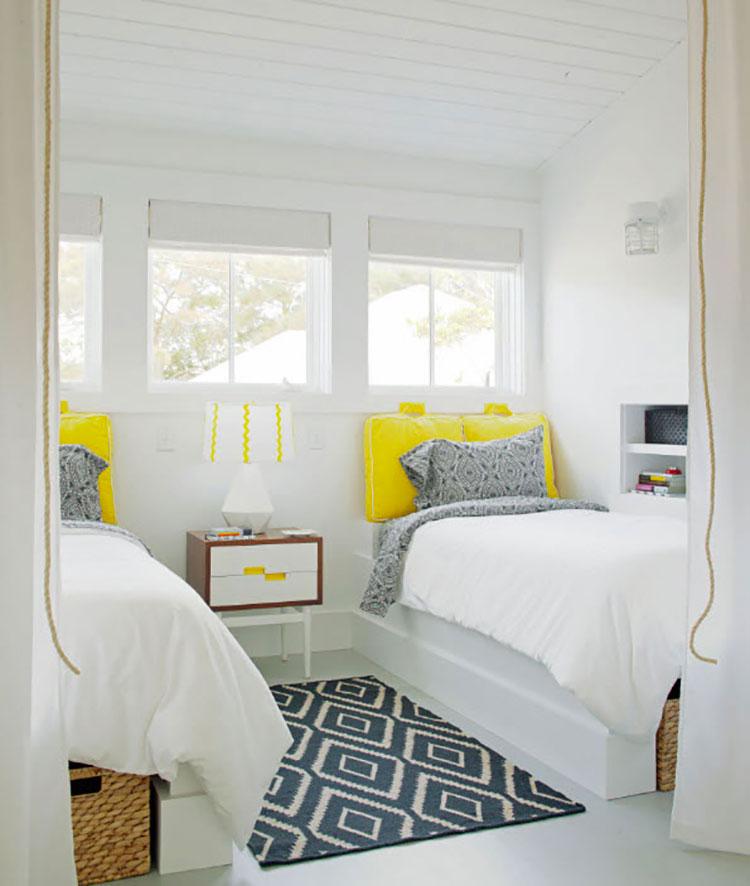 Idee per abbinare i colori in una casa al mare n.06