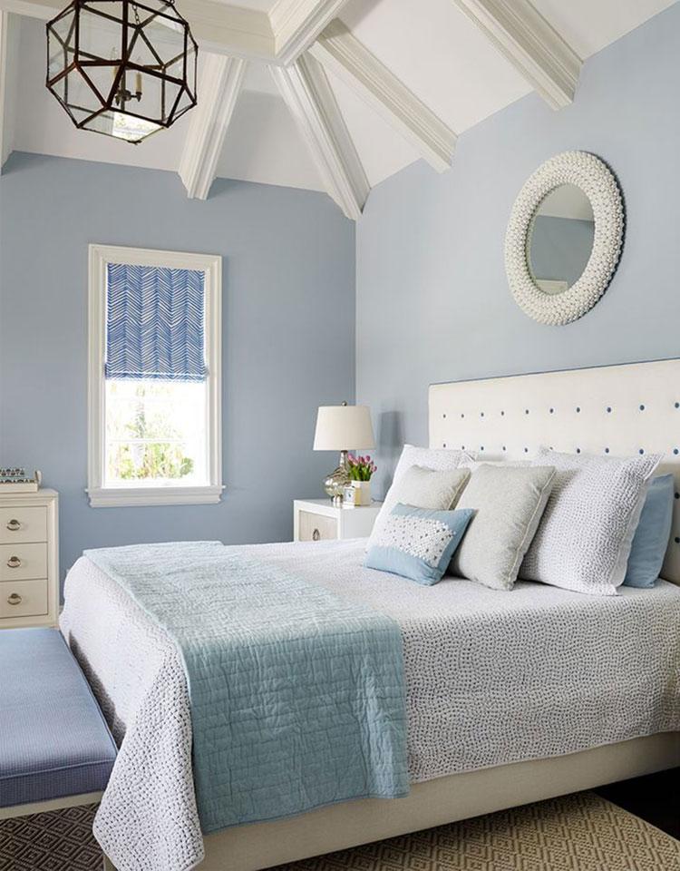 Idee per usare il colore azzurro in una casa al mare n.02