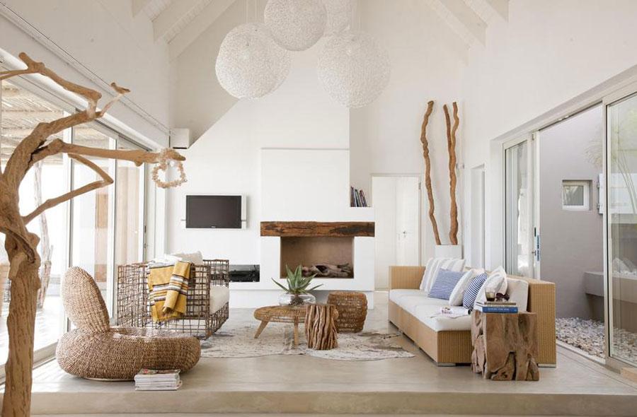 Idee per usare il colore bianco in una casa al mare n.01