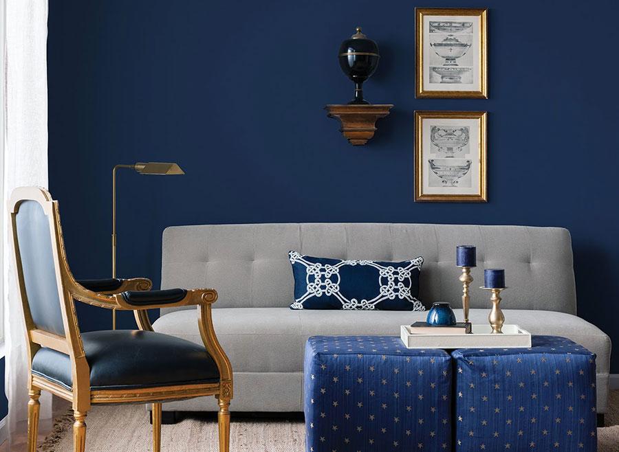 Idee per usare il colore blu in una casa al mare n.01