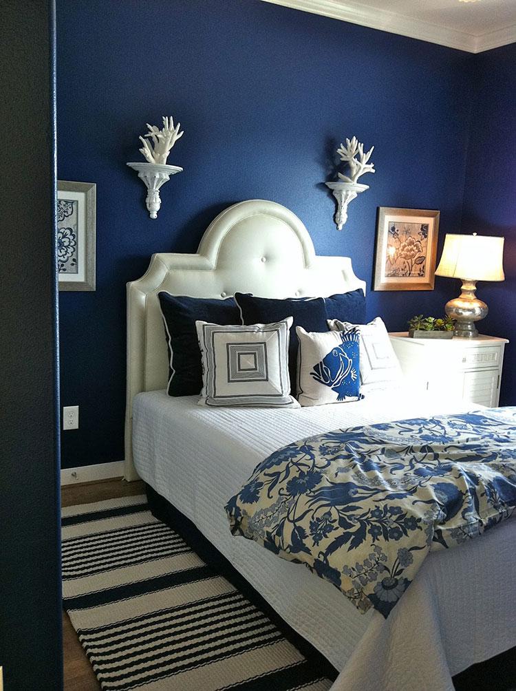 Idee per usare il colore blu in una casa al mare n.02