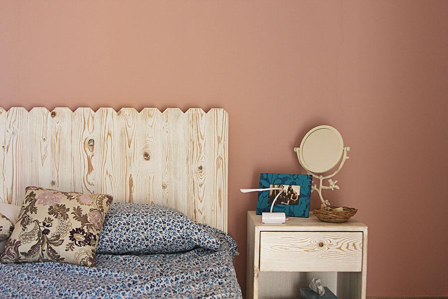 Idee per usare il colore rosso corallo in una casa al mare n.02