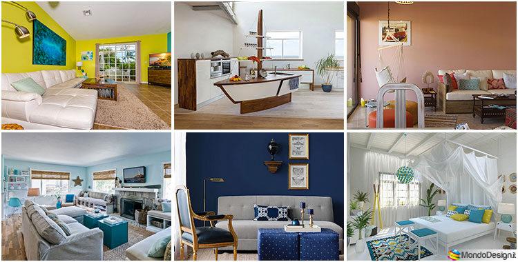 Colori casa al mare idee per tinte di pareti e arredi for Arredamento interni foto