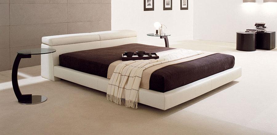 Modello di letto matrimoniale con contenitore marca Milano Bedding 01