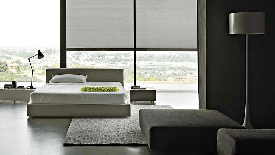 Modello di letto matrimoniale con contenitore marca Lema 02