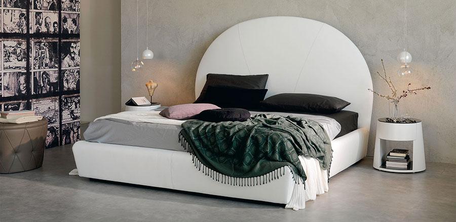 Modello di letto matrimoniale moderno marca Cattelan Italia 01