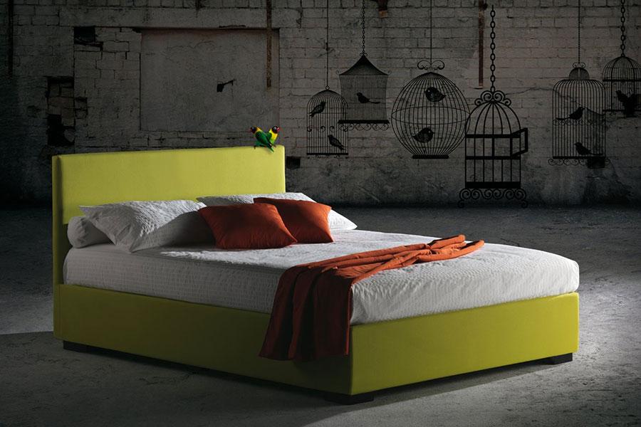 Modello di letto matrimoniale moderno marca Milano Bedding 02
