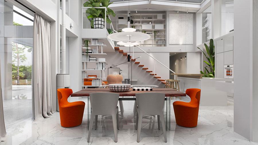 Idee di arredamento per loft in stile moderno n.02