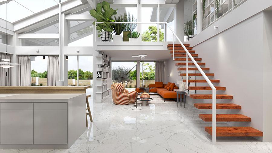 Idee di arredamento per loft in stile moderno n.03