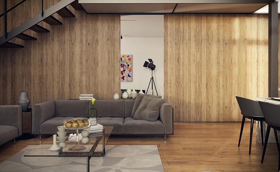 Idee di arredamento per loft in stile moderno n.07