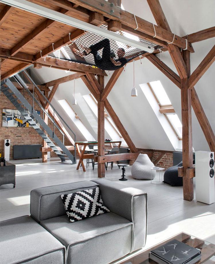 Idee di arredamento per loft in stile moderno n.12
