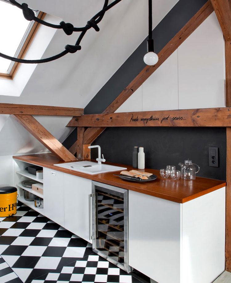 Idee di arredamento per loft in stile moderno n.14
