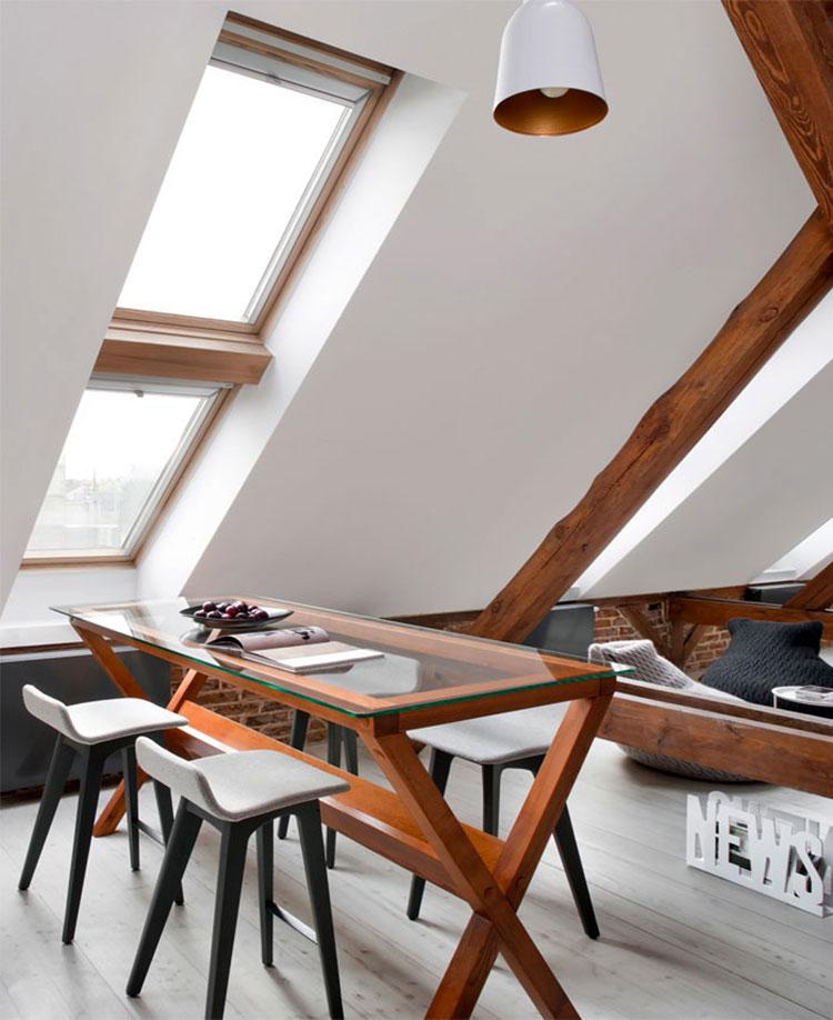 Idee di arredamento per loft in stile moderno n.15