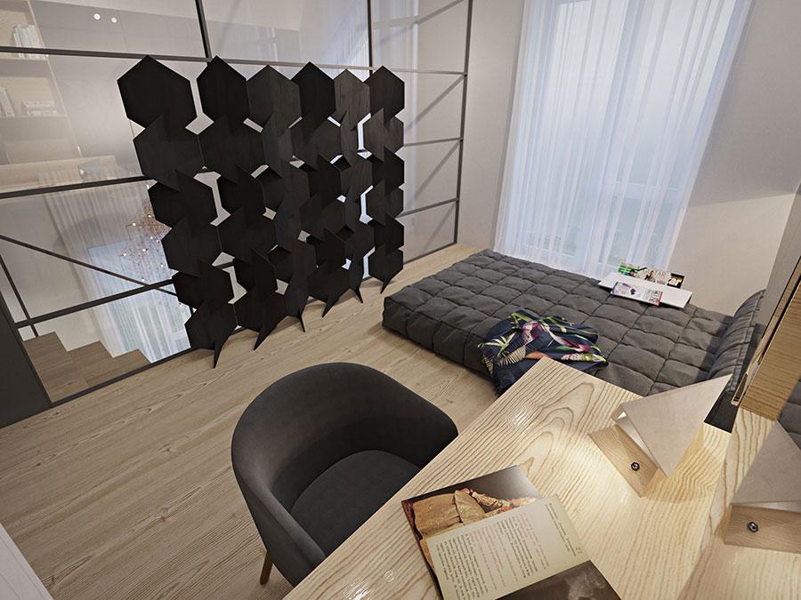 Idee di arredamento per loft in stile moderno n.20