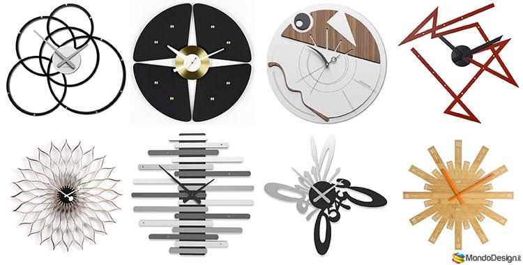 Particolare Orologio Da Parete Design Moderno.Orologi Da Parete Moderni Di Design Mondodesign It