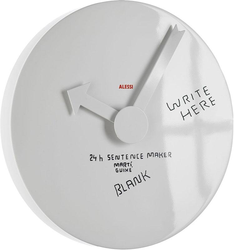 Modello di orologio da parete Blank Wall Clock di Alessi