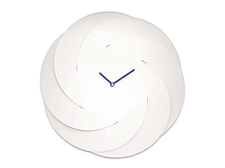 Modello di orologio da parete Infinity Clock di Alessi