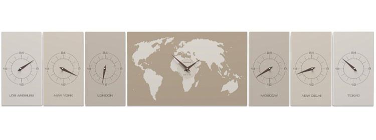 Modello di orologio da parete Cosmo di CalleaDesign