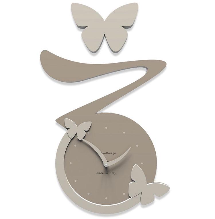 Modello di orologio da parete Farfalla di CalleaDesign