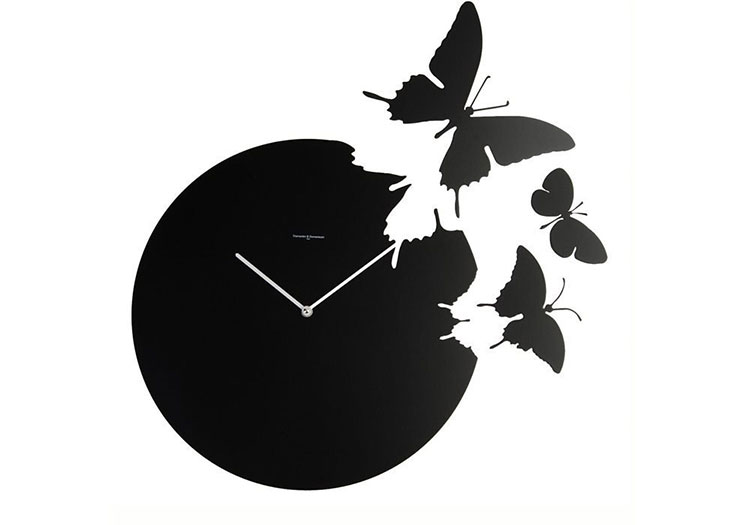 Modello di orologio da parete Butterfly di Diamantini & Domeniconi