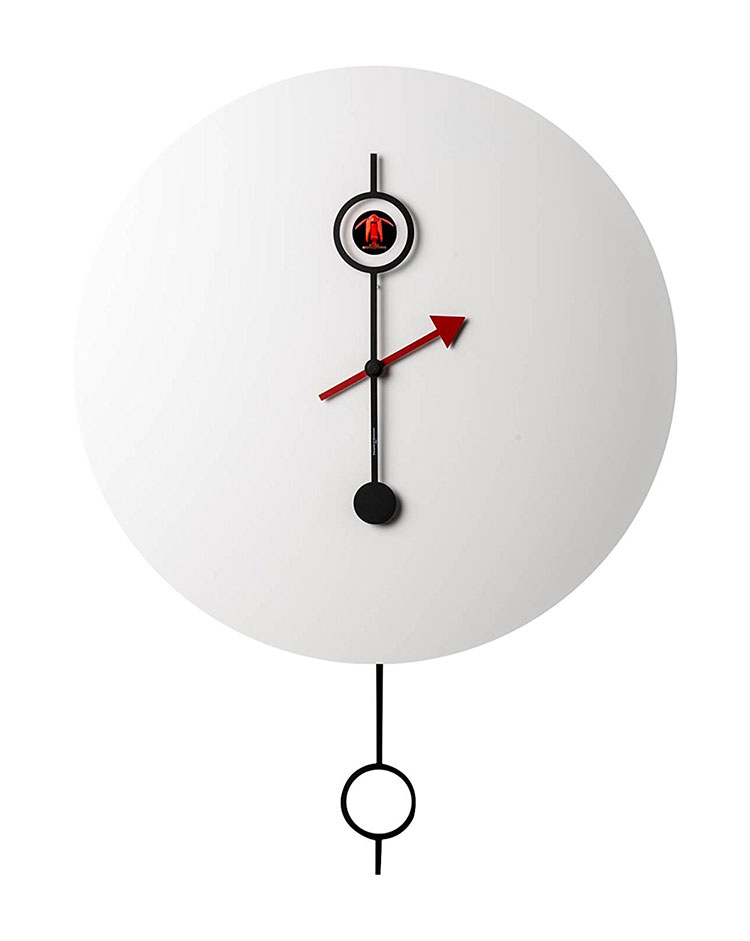 Modello di orologio da parete Ci Passo di Diamantini & Domeniconi