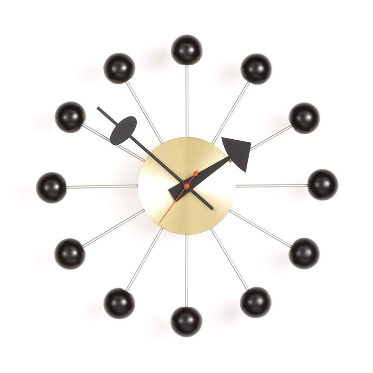 Modello di orologio da parete Ball Clock di Vitra